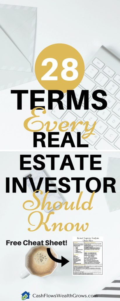 28 Terms Every Real Estate Investor Should Know | Real Estate Investing Terms and Formulas | Rental Property Analysis | Passive Income