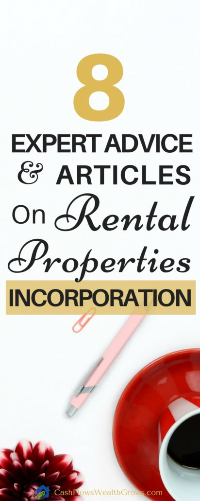 8 Expert Advice and Articles on Rental Properties Incorporation | Real Estate Investing | Property Management | Real Estate Business Incorporation
